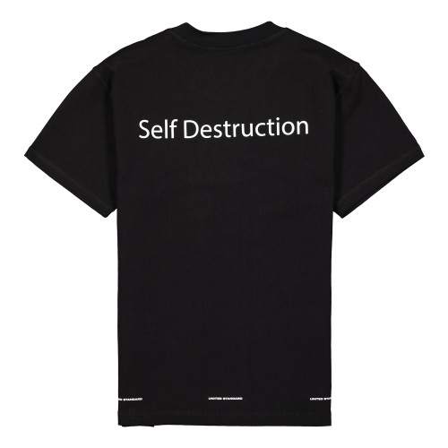 United Standard Self Destruction T-Shirt ( 20SUSTS07 / Black )