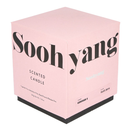 Soohyang Scented Candle 200g ( SSC / Gangham 8 )