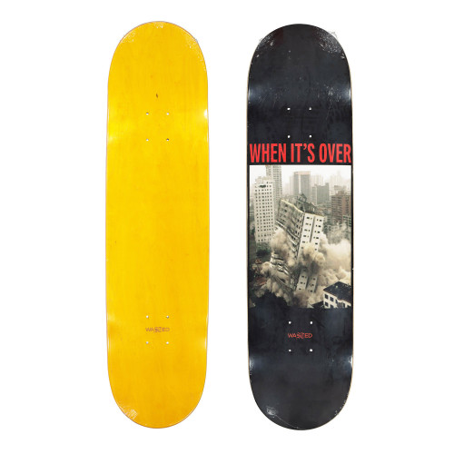 Wasted Paris Over Deck Board ( WPODB / Yellow )
