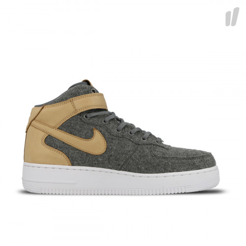 Nike Wmns Air Force 1 '07 Mid Leather Premium ( 857666 100 )