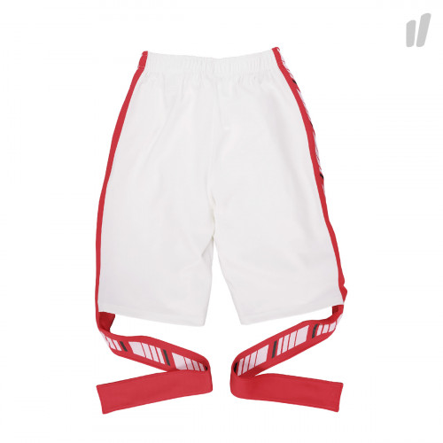 Antimatter Anti Logo Tape Half Pants ( P9 / White - Pink )