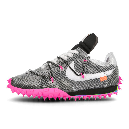 Off-White x Nike Wmns Waffle Racer ( CD8180 001 )