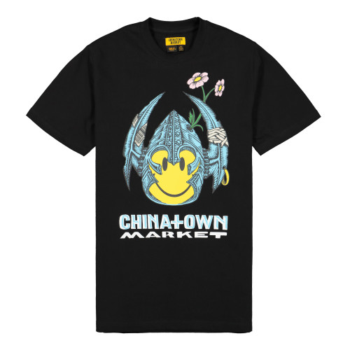 Chinatown Market Bones Smiley T-Shirt ( CTMF19-BSSS / Black )