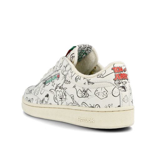 Tom & Jerry x Reebok Club C 85 MU ( FX4011 )