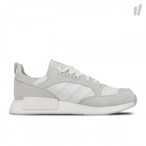 Never Made x Triple White x adidas Boston Super x R1 ( G27834 )