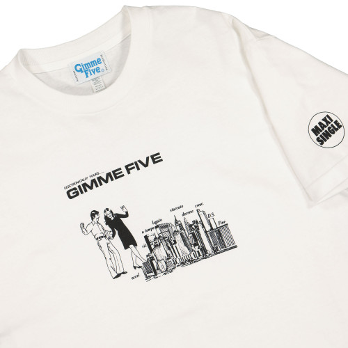 Gimme Five Boiled Shortsleeve Tee ( G500049 / White )