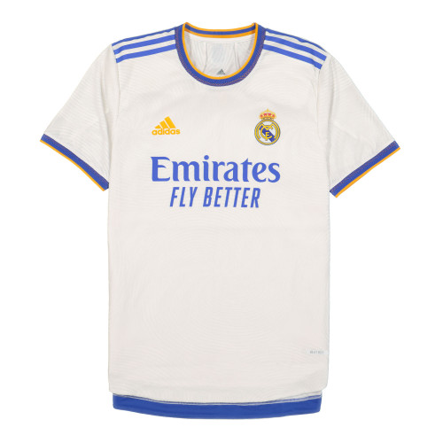 adidas Real Madrid 21/22 Home Authentic Jersey ( GQ1360 )   OVERKILL