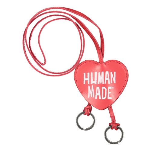 Human Made Keyring Leather Necklace ( HM19GD003 / Red )
