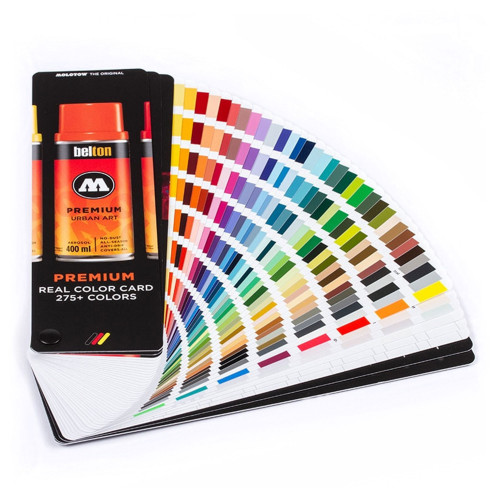 Molotow Premium Real Color Card