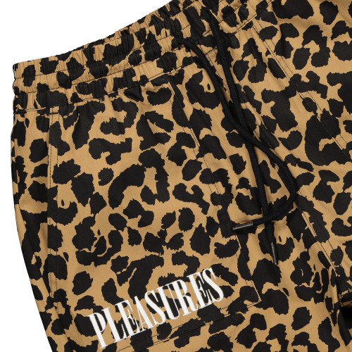 Pleasures Now Leopard Beach Pant ( PS19S104010 / Tan )