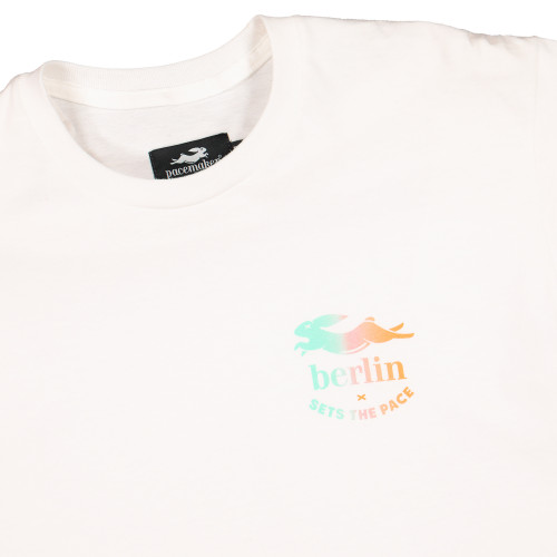 Pacemaker x Berlin Sets The Pace Tee ( PMB3 / White / Gradiant )