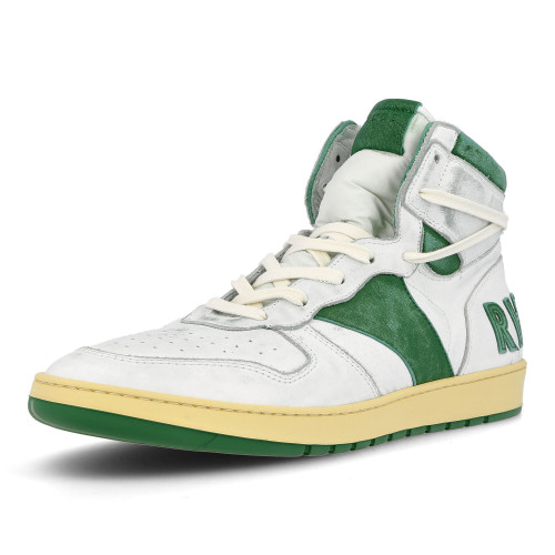 Rhude Rhecess Hi Skyline ( RHU07FOM22003 / White / Green )