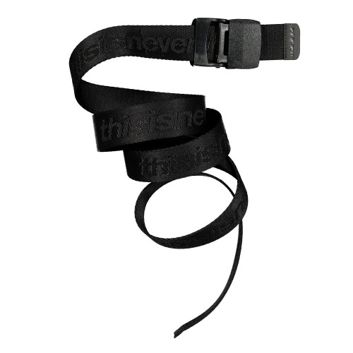 thisisneverthat SP-Logo Webbing Belt ( TN19SAC001 / Black )