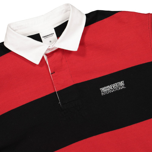 thisisneverthat Striped Rugby Shirt ( TN19SKW008 )