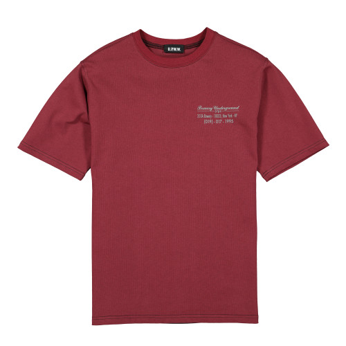 U.P.W.W. T-Shirt with Back Insert ( TR01C / Burgundy )