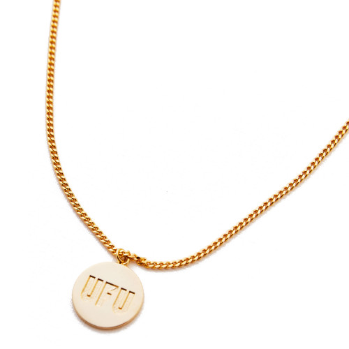 Used Future Blessed Circle Necklace ( UDS-AC-201-GD / Gold )