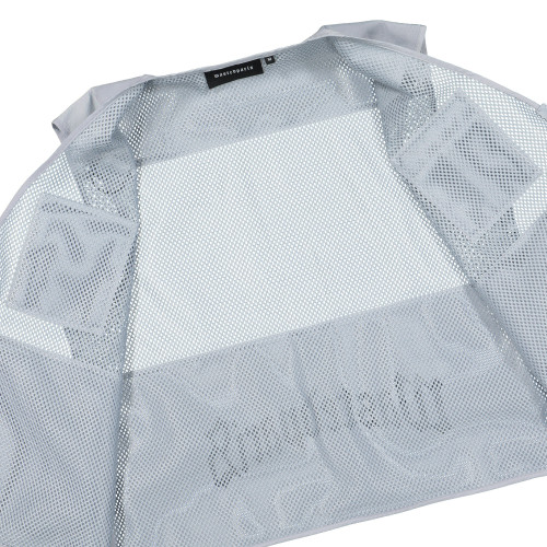 Wasted Paris Silver Reflective Tactical Pocket Vest ( 128277 / Silver Grey )