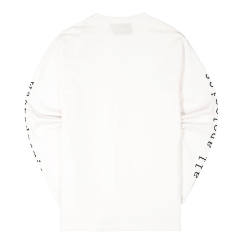 Wasted Paris Apologies Longsleeve ( White )