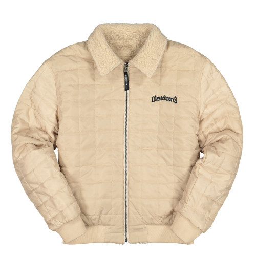 Wasted Paris Reversible Zipper Jacket Sherpa ( Desert )