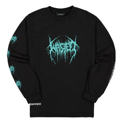 Wasted Paris Dystopia Faded Longsleeve ( WPDFLS / Black )