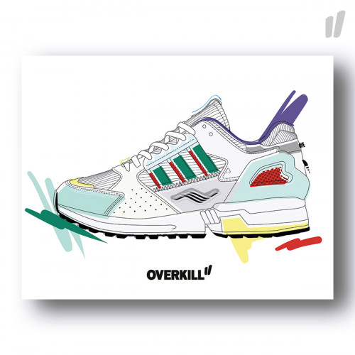 Overkill ZX10K I CAN IF I WANT Postkarte Standard ( EE9486 A6 )